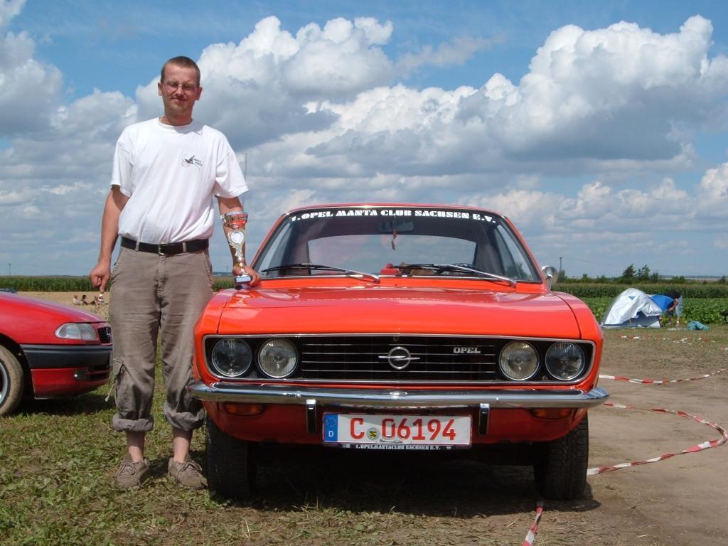Opel Manta A Baujahr 1970